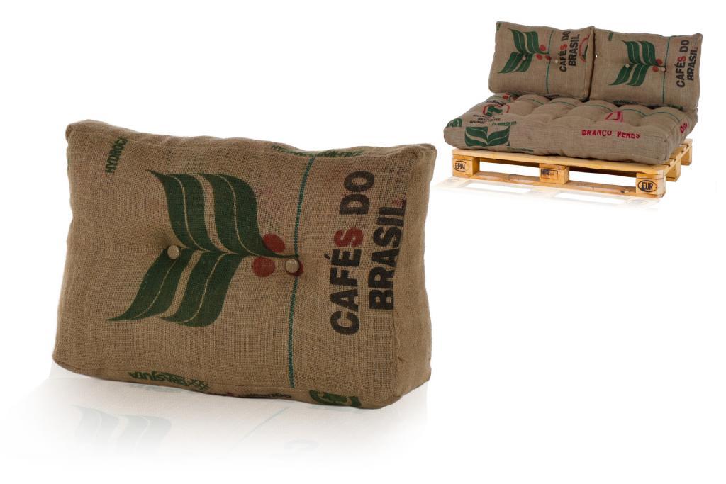 vita line palettenkissen palettenpolster kissen sofa polster aus jute ebay. Black Bedroom Furniture Sets. Home Design Ideas
