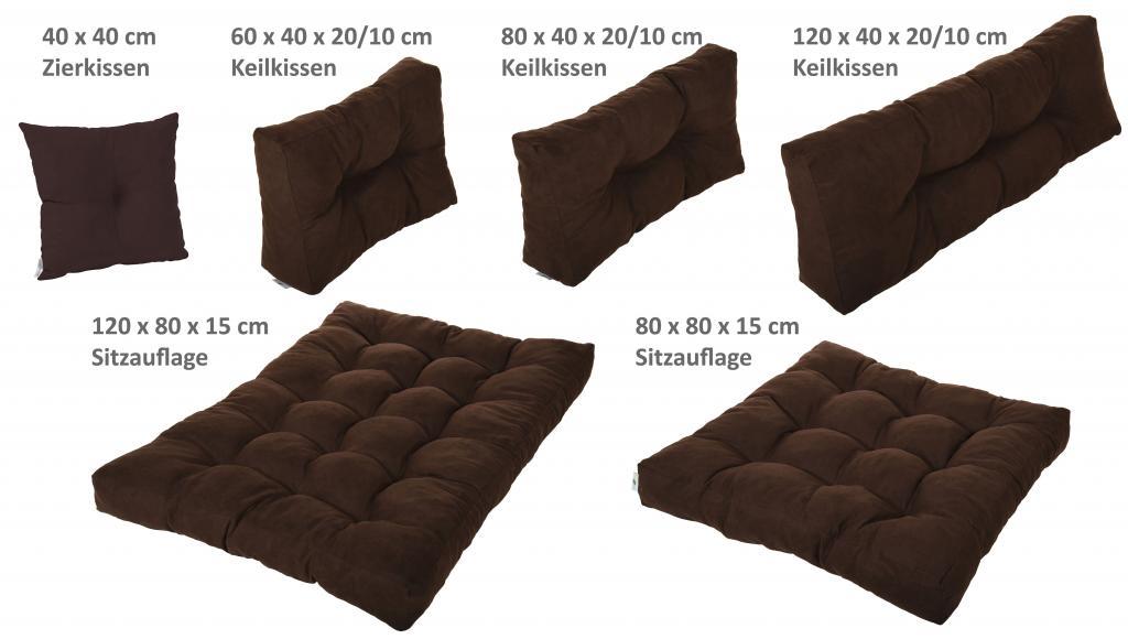 Vita line palettenkissen palettenpolster kissen sofa for Sofa polster