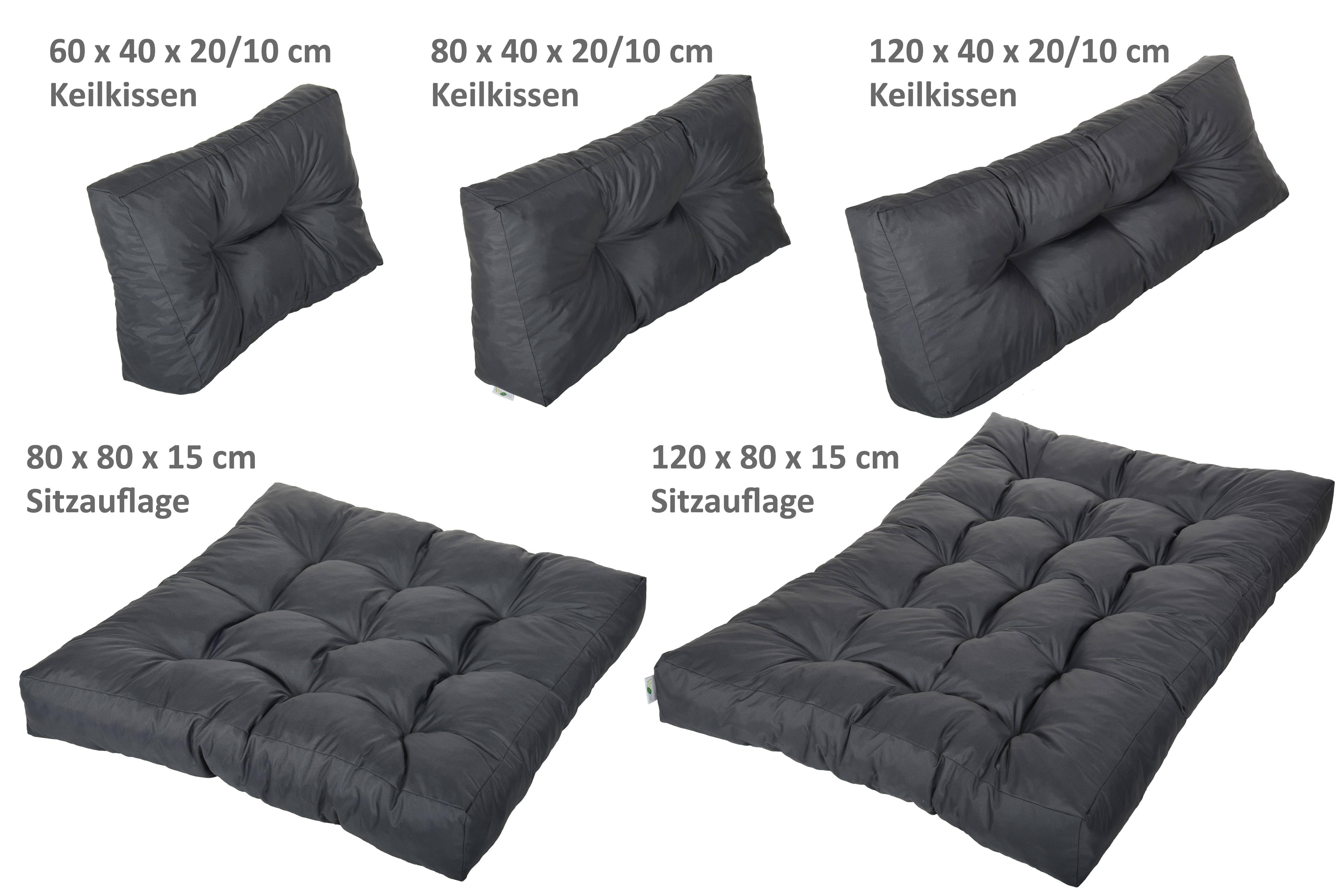 vita line palettenkissen palettensofa palettenpolster polster auflage kissen s ebay. Black Bedroom Furniture Sets. Home Design Ideas
